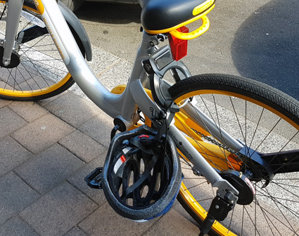 citizenrod bad design shared bikes helmets