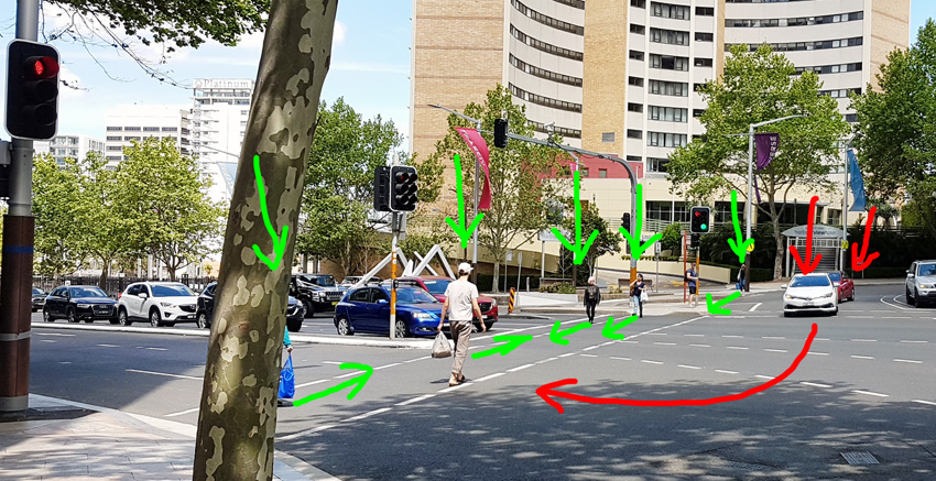 citizenrod bad design traffic pedestrian crossing time