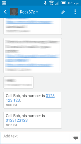 citizenrod bad design sms human readable numbers
